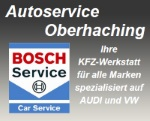 Logo Autoservice Oberhaching GmbH