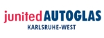 Logo <b>junited AUTOGLAS Karlsruhe-West</b>